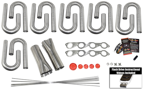 Stainless Steel Headers - Header Build Kits