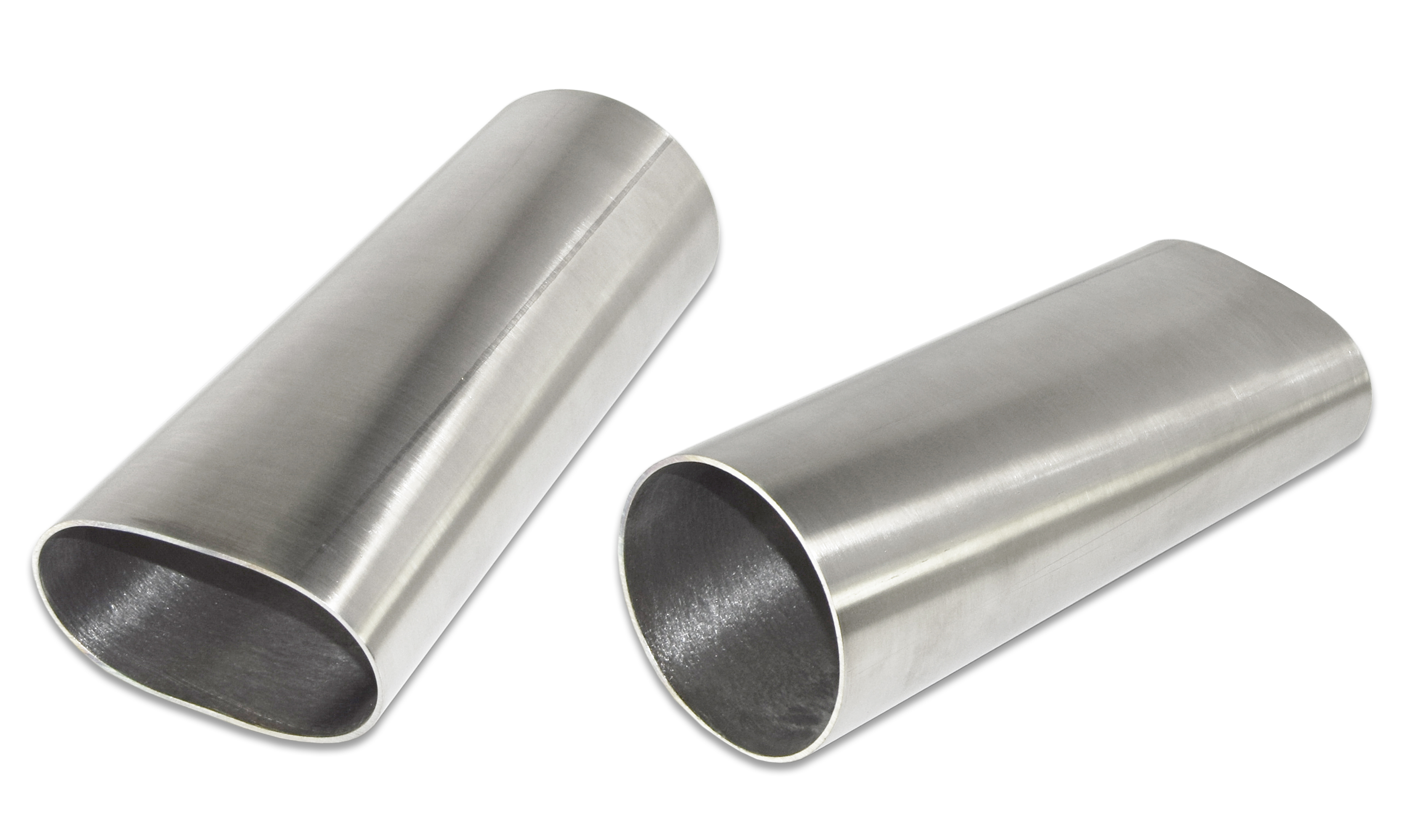 Straight Length Oval Exhaust Pipe 2/½ Straight Length Oval Pipe
