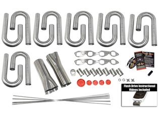 Big Block Chevy Square Port Custom Header Build Kit