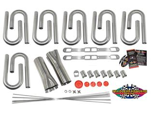 SHM-4511-NA-HBK - Big Block Mopar (383-440) Custom Header