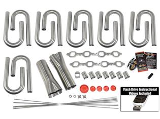 Stainless Steel Headers - Ford Header Build Kits